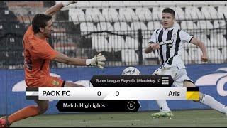 Τα στιγμιότυπα του ΠΑΟΚ-Άρης - PAOK TV