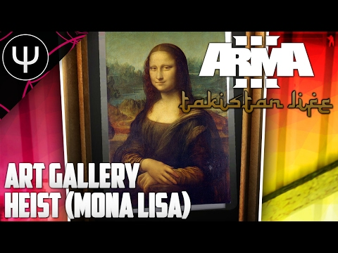 ARMA 3: Takistan Conflict — Art Gallery Heist (Mona Lisa)!
