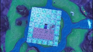 Remaking the cube in Fortnite R.I.P Kevin