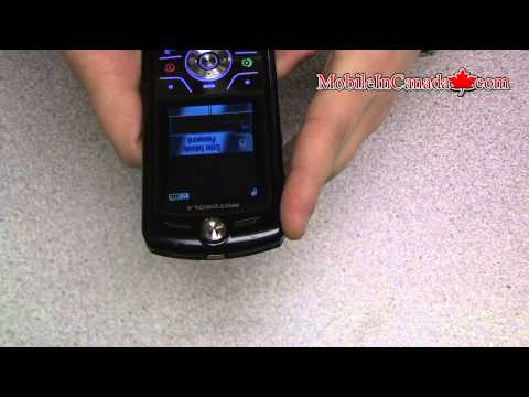 How to enter unlock code on Motorola L7 From Rogers - www.Mobileincanada.com