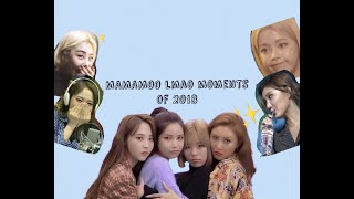 MAMAMOO Funny Moments of 2018