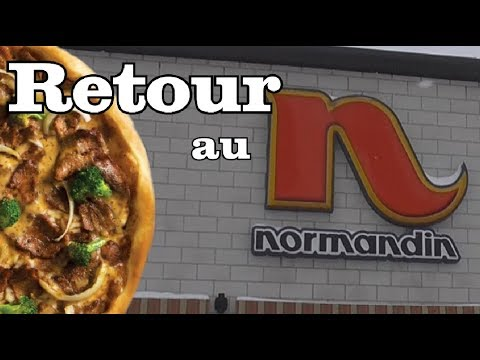 Retour Au Normandin - Pizza Fondue Chinoise - Critique De Restaurant