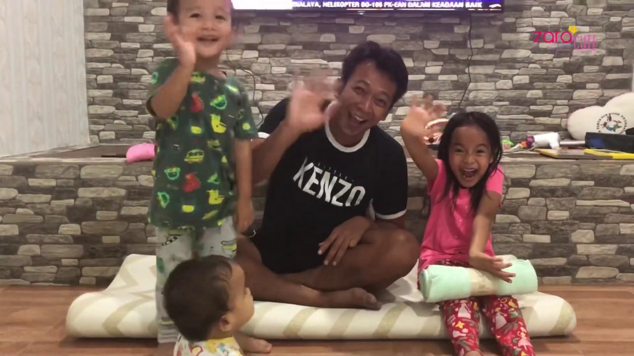 Anak bermain sama Papa | Zara Cute Liitle Kenzo 10 Minutes HAPPY CHALLENGE | Mainan Anak
