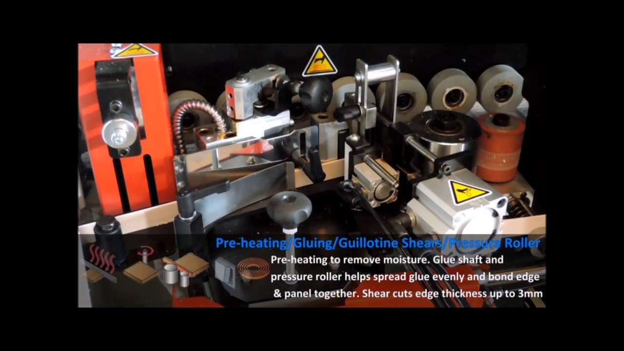 Cantek MX370A Automatic Edgebander with Premilling & Corner