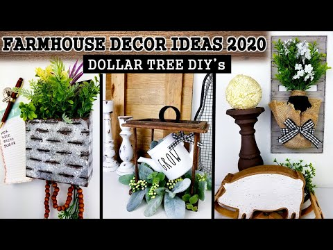 dollar-tree-diy's-|-farmhouse-decor-ideas-|-cheap-diy's-for-home-decor-2020