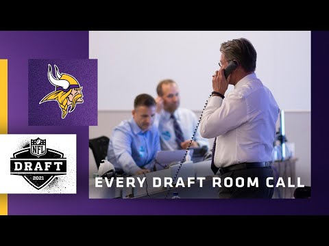 All 11 Minnesota Vikings Draft Room Calls From the 2021 NFL Draft