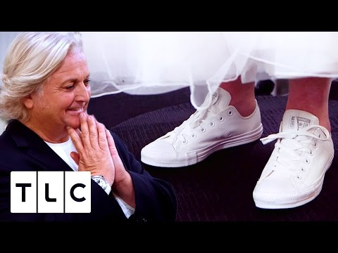 Bride Wants To Wear Trainers At Her Wedding | Say Yes To The Dress UK