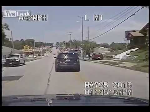 Dashcam Video | Crazy Police Chase | Kansas City, Missouri