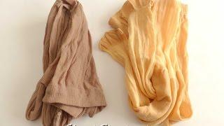 Как подготовить колготы, капрон для текстильной куклы. Два способа для улучшения прочности, эластичности, упругости.