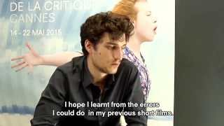 Interview Louis Garrel (LES DEUX AMIS) - W. English subtitles