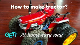 How to make tractor | easy way | arjun tractor | tractor make at home