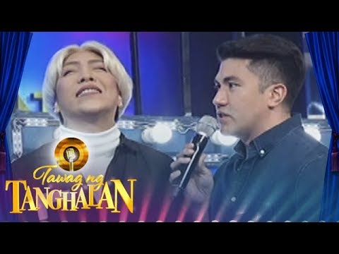 Tawag ng Tanghalan: Vice pokes fun on Luis' chest