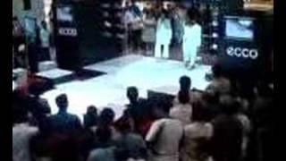 Ecco fashion show in dubai
