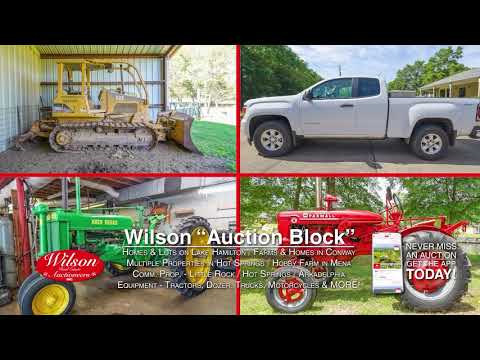 Upcoming Real Estate And Equipment Auctions In Arkansas, Farms, Land, Lake Homes And Much More!