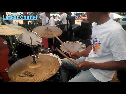 Goyang heboh (drum cam)