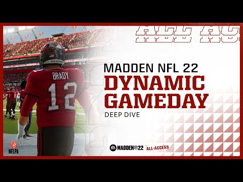 Madden 22 | Dynamic Gameday | All Access Deep Dive Trailer