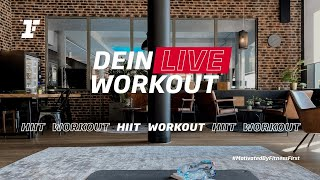Fitness First Live Workout - HIIT-Workout mit Filiz