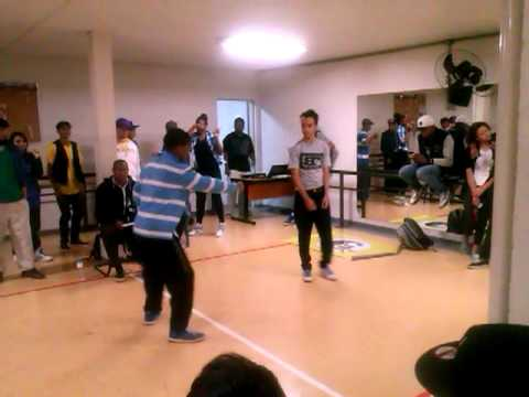 Campeonato CDU de popping ( Popper Negresco VS Ice- Boogie Town -) FINAL