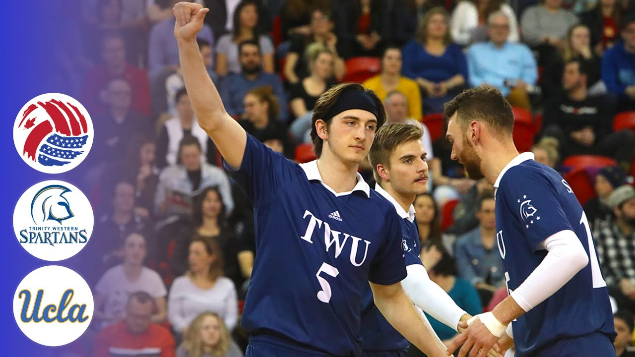 Trinity Western Spartans vs. UCLA - Full Match | CanAm Volleyball 2019