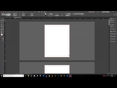 Setting Up A Booklet In InDesign Using Adobe CC