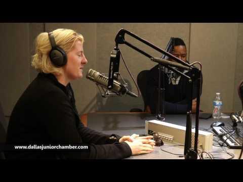 ⭐️Dallas Junior Chamber of Commerce live at iHeart Radio on 1/8/17