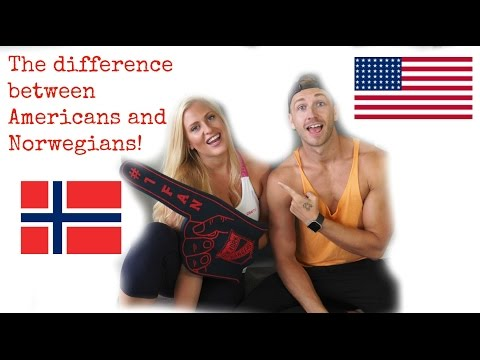Difference between Norwegians and Americans!!