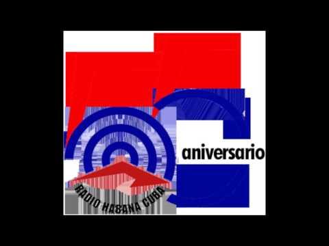 RADIO HABANA CUBA AÑO 55 MARIO ZAVALETA Y PEDRO MARTÍNEZ PÍREZ