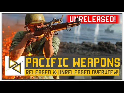 [BF5] PACIFIC Weapons - Unreleased & Released - History, Release Date & Performance! [BFV Pacific]