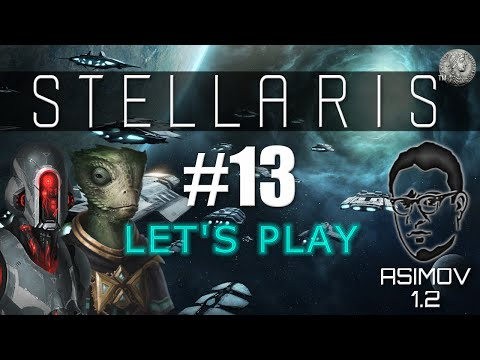 """STELLARIS Let's Play - HARD - Fanatic Individualist/Materialist - #13 """"Opposing Sides"""""""
