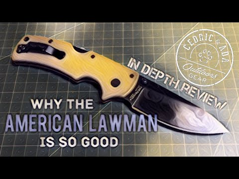 Why the Cold Steel American Lawman is one of the best folders you can buy