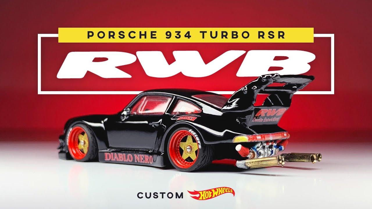 RWB Porsche 934 Turbo RSR Custom Hot Wheels