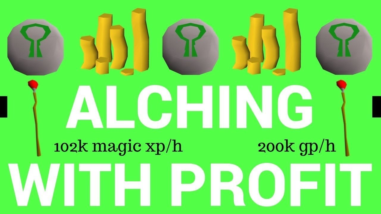 Best High Alch Items 2019 NEW! HIGH ALCHING WHILE PROFITING   2019   Hazare osrs   YouTube