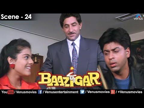 Dalip Tahil decides to make Shahrukh Khan his Son-in-law (Baazigar)