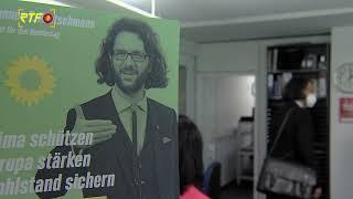 Grüner Bundestagskandidat Johannes Kretschmann zu Besuch in der Redaktion