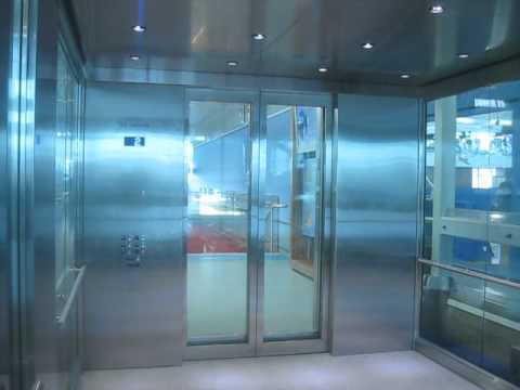 Humongous Kone Glass Elevator Doors At The Richmond Olympic Oval