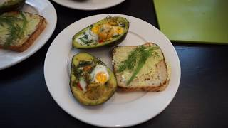 Готовим запеченное авокадо на завтрак