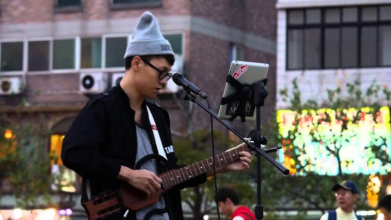 20141108 練懿樂 - 她說(林俊傑) 吉他彈唱 - YouTube