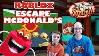 Roblox Escape McDonald's Gameplay and Review