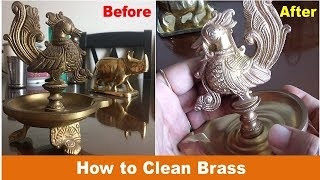 How to Clean Brass Deities and Showpieces