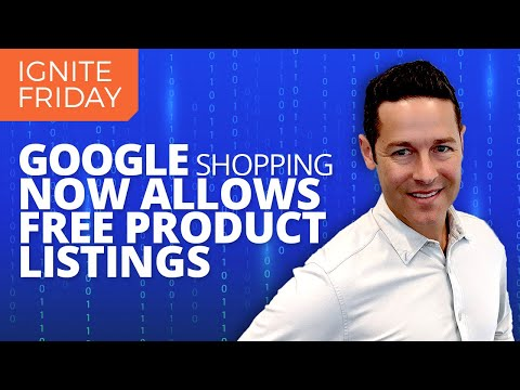 Google Shopping Now Free And Google Update!
