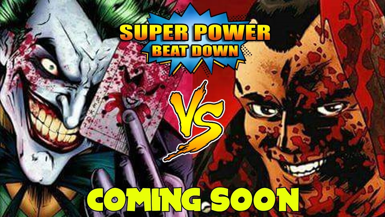Joker Vs. Negan Super Power Beat Down
