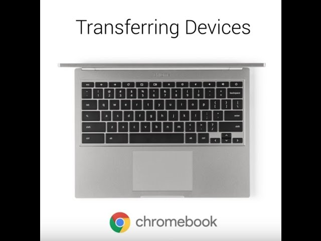 Video Tutorial: Switching to Chromebook
