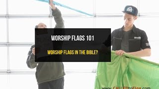 Worship Flags 101: Worship Flags in the Bible? ft David & Christian CALLED TO FLAG