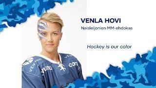 Naisten MM-ehdokkaat esittäytyvät - Hyökkääjä Venla Hovi