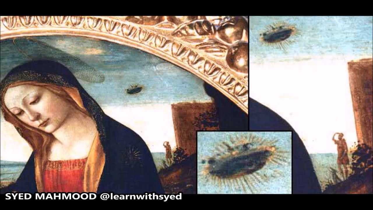 15th Century UFO? Ancient Aliens? Madonna and Child ...