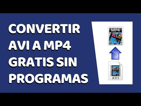 How to Convert AVI to MP4 Online Without Software 2017