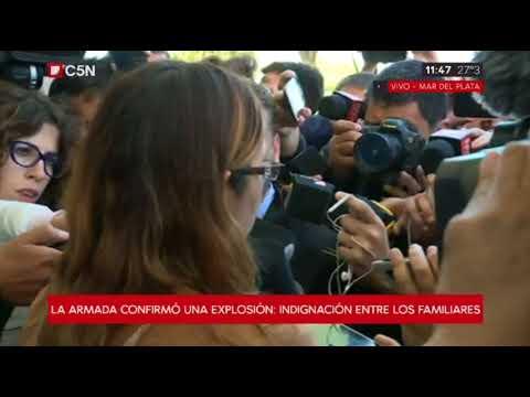 "Itatí Leguizamón, esposa de un tripulante: ""Los mandaron en una mierda a navegar"""