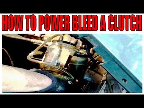 clutch rust bleeder how to fix