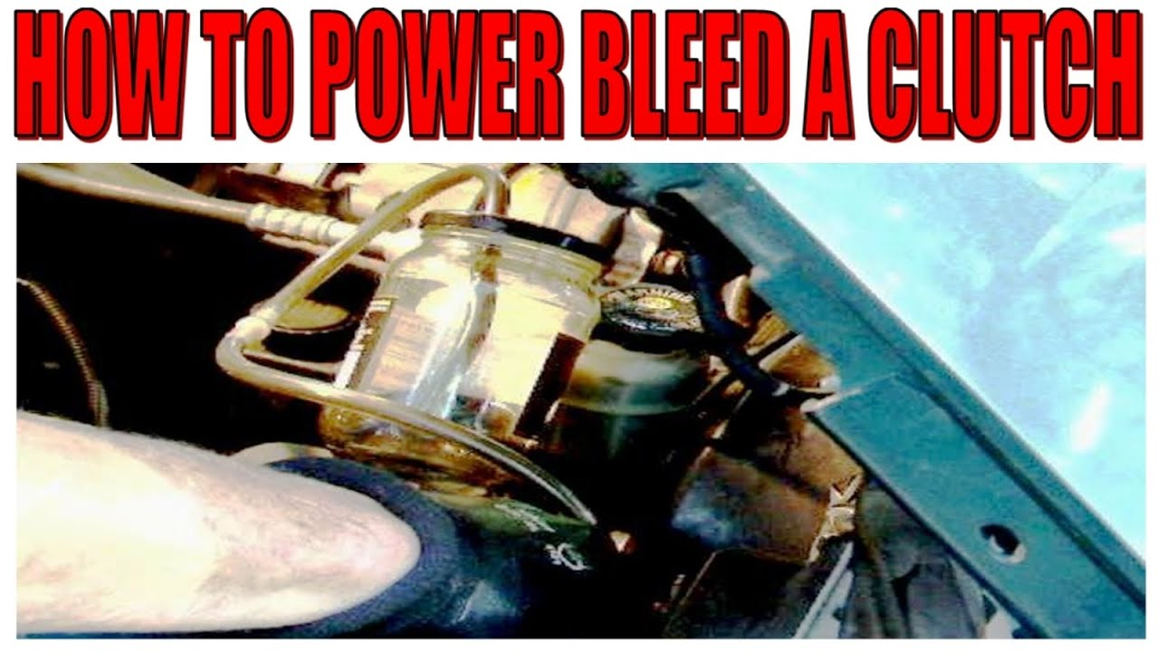 How To Power Bleed A Clutch Youtube 69 Bronco Wiring Diagram