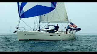 Oyster 46 WILLOW sailing and virtual tour